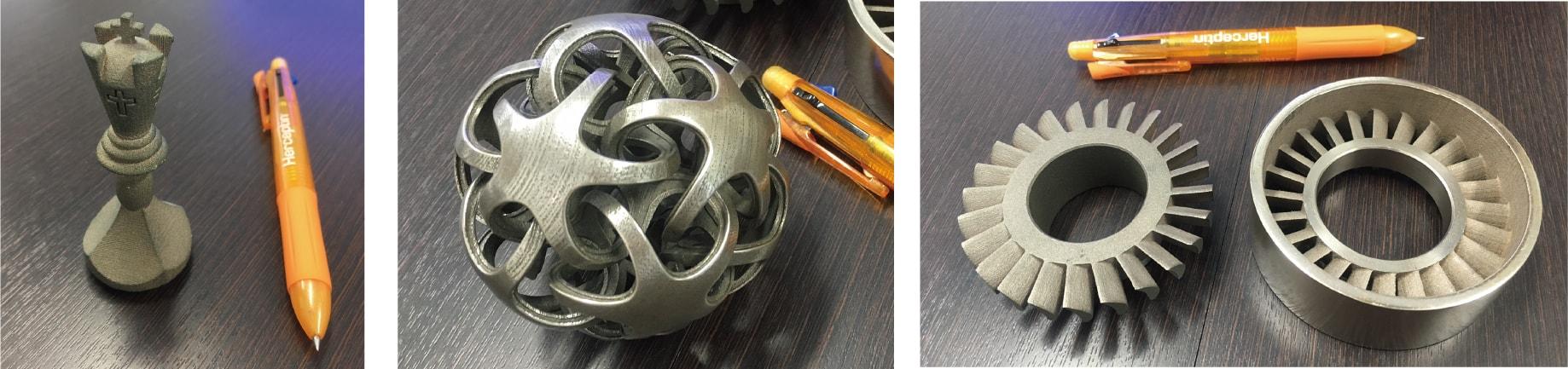 3D金属積層造型画像